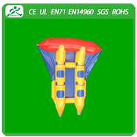 Customized inflatable fly fish water games for sale(4seats)