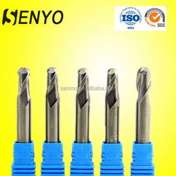 Tungsten carbide two flute metric end mill cutting tools company