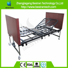 BT-AE032 5-function wooden extra-low folding electric medical nurse bed