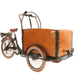 From original manufacture Dutch bakfiet Holland three wheel cargo motorcycles