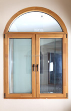 Guangzhou tilt and turn solid wood window