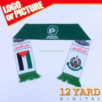Wholesale heat transfer printed Muslim Own design hijab lady scarf, dubai muslim scarf