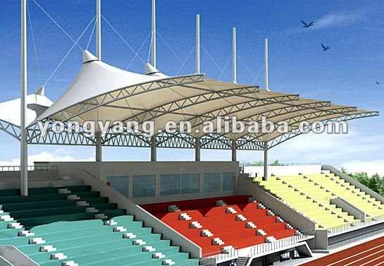 Tubular - estructura de acero del deporte centro