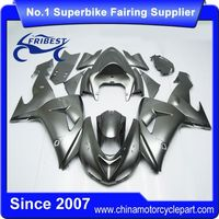 FFKKA012 Fairings For Motorcycle For ZX 10R ZX10R 2006 2007 Gloss Grey
