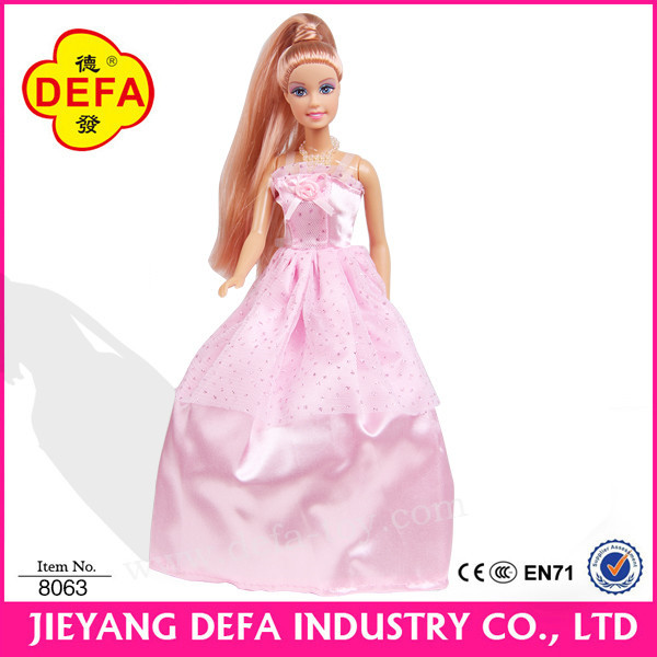 11.5 inch plastic beautiful princess dress up game doll.jpg