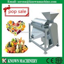 Uva máquina de celulose / uva esmagamento máquina / polpa de fruta que faz a máquina