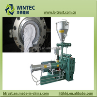 pvc plastic sheet making extrusion machine