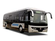 Dongfeng 4x2 EQ6100EV pure electrical city bus 10.5m