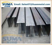 Prime laminado en caliente de acero dulce h beam / HEA HEB S235 S355 SS400 A36 Q235 Q345 laminado en caliente hierro h perfil acero h