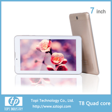 Alibaba express 7 inch android tablet 2700mah T8 quad core tablet pc