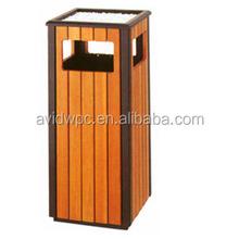 Wood plastic composite /wpc/composite/wood dustbin