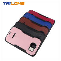 2015 new design TPU and leather case cover for samsung galaxy s6