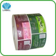 Printing Label Sticker Cosmetics, Cosmetics Roll Label Printing vinyl sticker