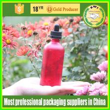 glass dropper bottle 1 OZ clear Amber blue black red for e liquid with child safety and tamper proof dropper top