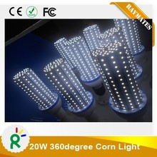 85-265V E26 E27 E39 E40 85-265V 20W led corn light 360 degree led bulb