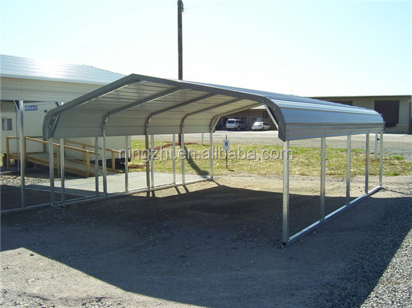 Metal carport with different sizes metal shed for car for Different carport designs