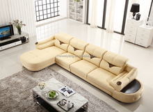 made in china leather sofa yellow leather sofa WQ6802