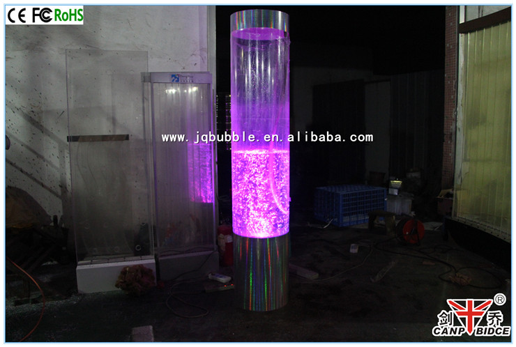 h tel spa aqua led colonne ronde acrylique bulle d 39 eau lampe autres d cors maison id de produit. Black Bedroom Furniture Sets. Home Design Ideas
