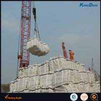 Construction grade portland cement with jumbo bag by vessel