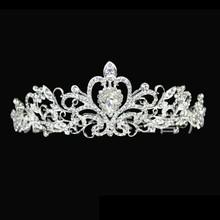 2015 Luxur Bridal Tiara Wedding Crown hair accessories Crystal headband