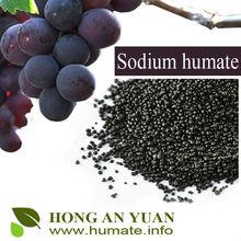 2-4 mm Sodium humate granular for shrimp farming / animal feed additive / fish fertilizer
