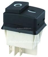 120VAC Illuminated Green Push button switch