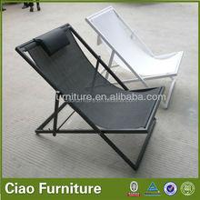 S&D handcraft Outdoor rattan beach chaise sun lounger