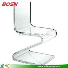 Modern Acrylic Chair, Plexiglass Chair, Lucite Chair