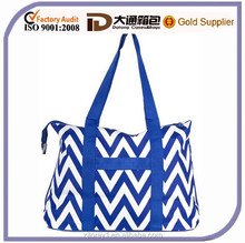 China manufacture women polyester tote shopping bag