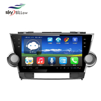 Wholesale 1024x600 Pixels Car Video Player with 3G Wifi Bluetooth for Toyota Highlender 2012