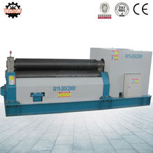 Hoston Multi function W11 sheet metal fabrication rolling machine/ mechanical plate rolling machine