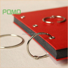 Wholesale Metal Nickel Plating Book Ring, High quality book binding ring,notebook open rings,14,19,25,32,38,40,50,60,70,75,80mm