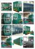 textile core rubber conveyor belt plate vulcanizing press