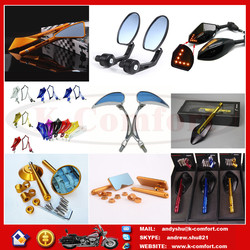 Newest cheap chinese motorcycle mirrors with best price for sale