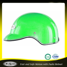 901 green mini motorcycle half shell helmet for ladies