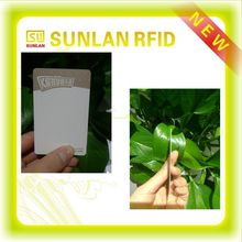 High-quality 0.22mm full magnetic Thermal Visual Silver rewritable card for beauty serivice industry (Fast Free Sample To Test)
