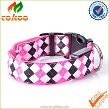 Hot Sale Design Nylon Adjustable Pet Collar For Dogs & Cats