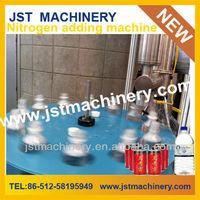 Automatic liquid nitrogen injection filling machine / equipment / line