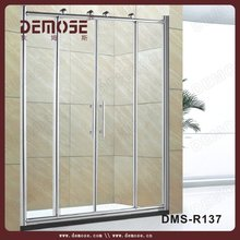 stainless steel shower room/shower cubicle/shower screen 90x90