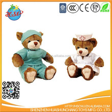 custom plush toy the nurse teddy bear