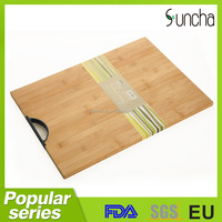 Sunflower oil bamboo cutting board/wood cutting board best kitchen tools from China supplier