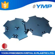 Chinese precise CNC lathe machining parts custom aluminum profile with anodizing