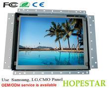 tft lcd de panel de entrada hdmi 12 pulgadas táctil monitor del marco abierto