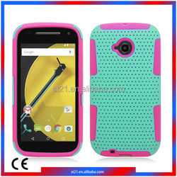 Trending Hot Products China Smartphone Cover TPU PC Protector Cover Cell Phone Cases For Motorola Moto E2 LTE XT1527