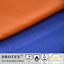 Special finish 100% cotton fire retardant fabric