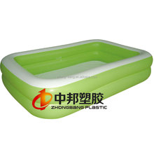 High quality square adult kids inflatable swimming pool