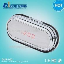 1920*1080p full hd stylish mirror clock camera dvr