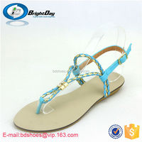 new arrival leisure flat sandals ladies slippers and sandals