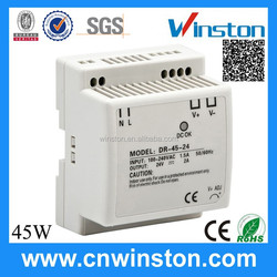 Hot selling Trade Assurance DR-45-12 45W 12V 3.5A Din Rail switching power supply 12V DC