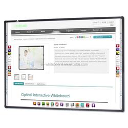 Popular Wall Mounted Business Training 100'' Whiteboard